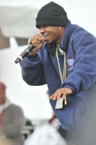 Chamillionaire performs at Fort Hood Community Strong