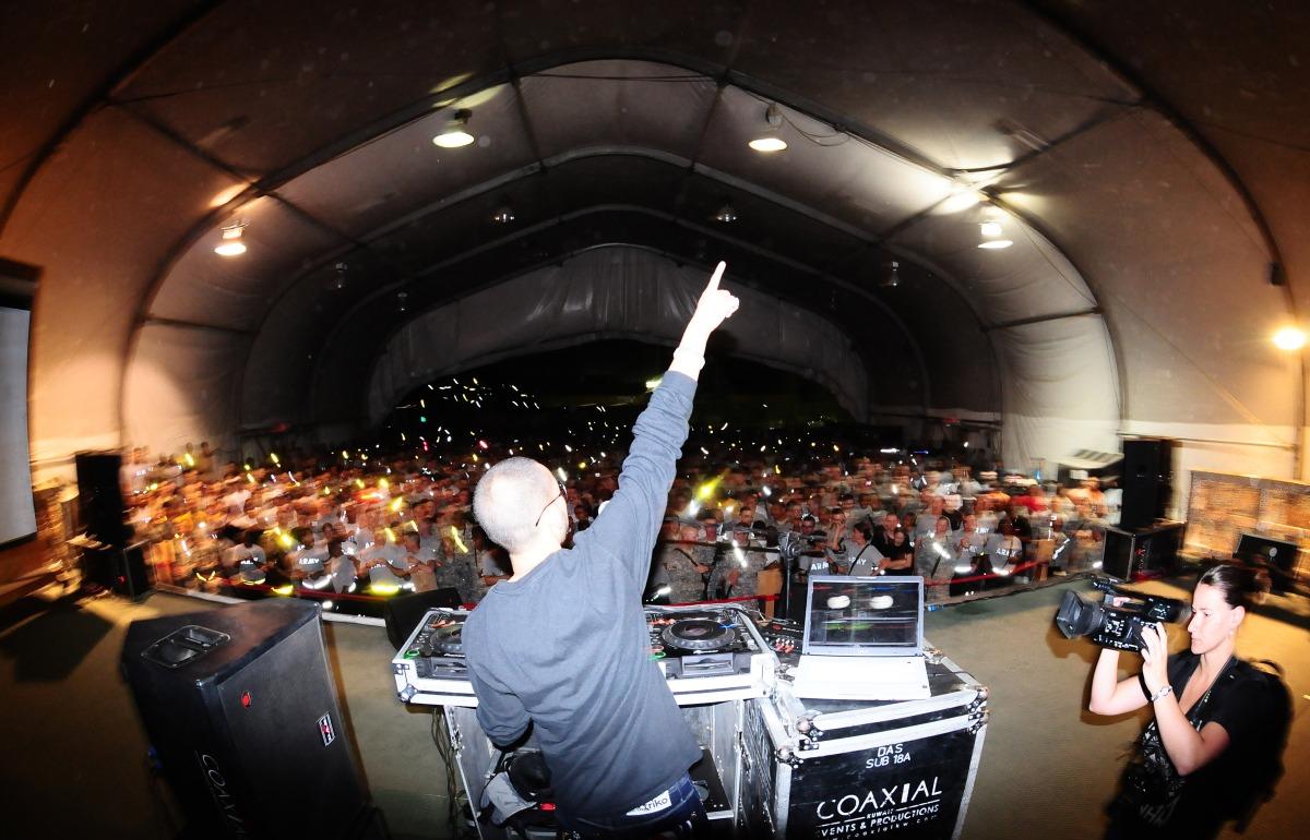 Paul Wall-DJ Smallz USO Tour - Bagram, Afghanistan - August 26th