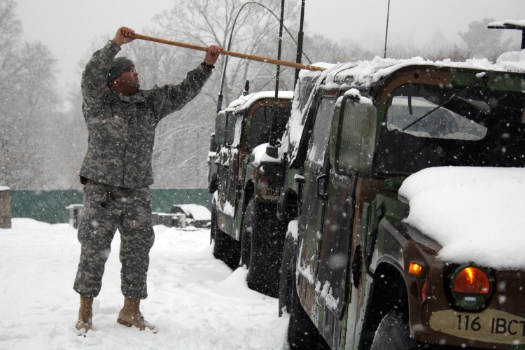 National Guard Blizzard 2010
