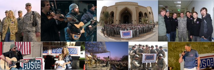 USO Celebrity Tour Grammy Nominees and Winners