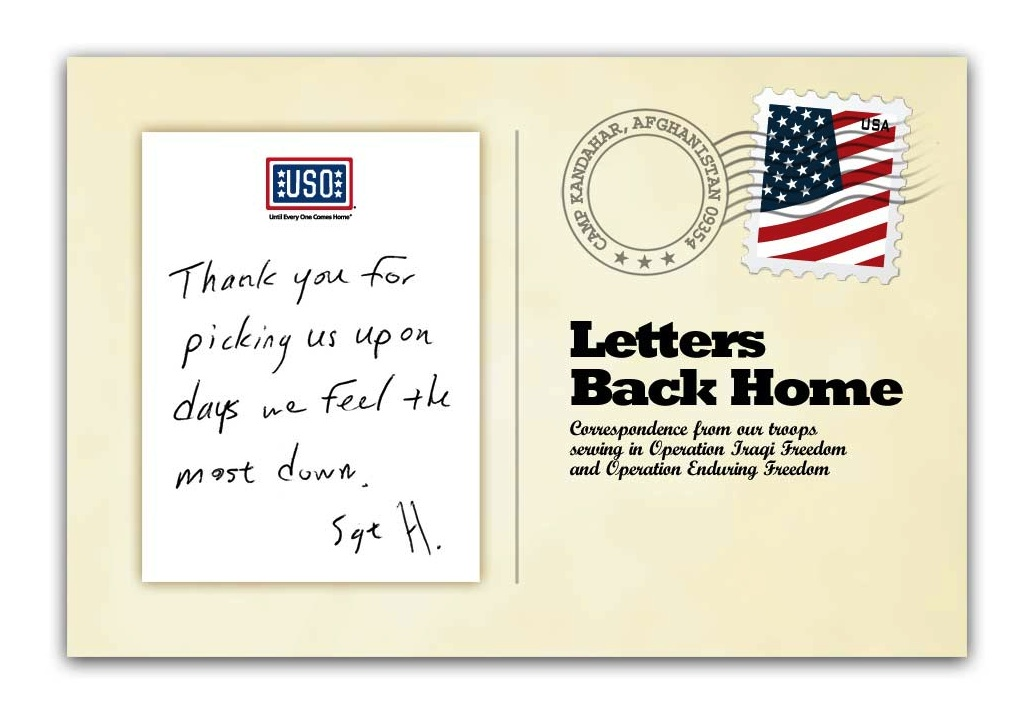 Letters Back Home