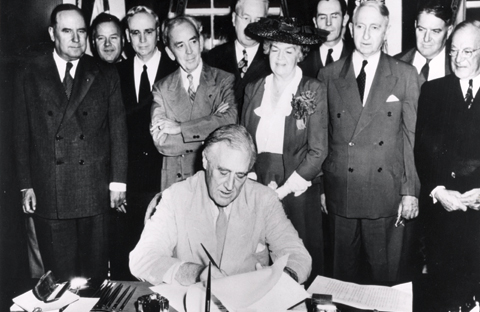 GI Bill Signing