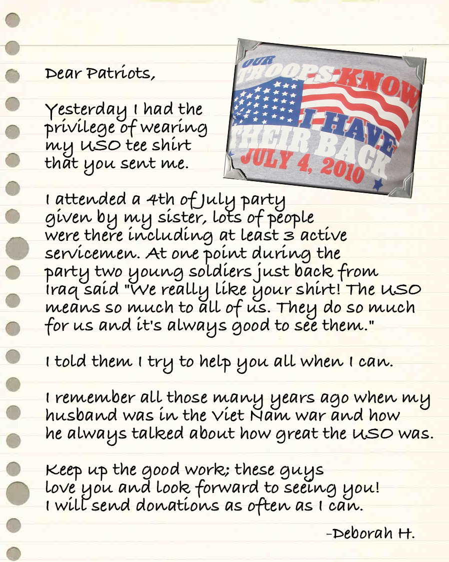 Letters Back Home T Shirt Edition The Official Uso Blog