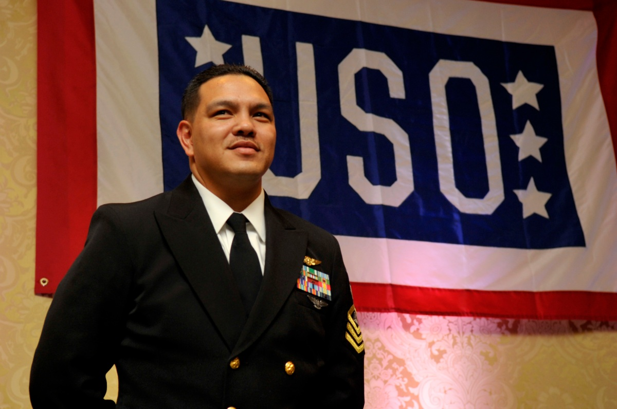 Navy Senior Chief Wes Tavares – Enlisted Aide of the Year