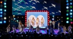 "Singers Keri Hilson, Katy Perry, and Jennifer Nettles sing ""Boogie Woogie Bugle Boy"""
