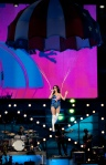 "Katy Perry performs ""California Gurls."""