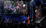 "Katy Perry performs ""Firework."""