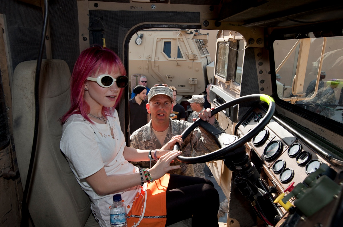 Hayley Williams from the band Paramore