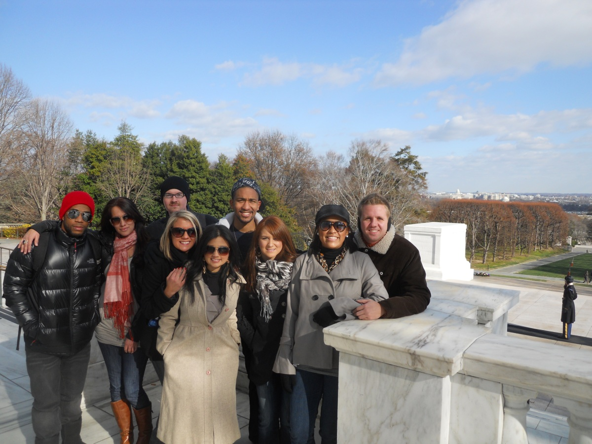 Voice Avenue at Tomb of the Unknown Soldier Dec 7 2010