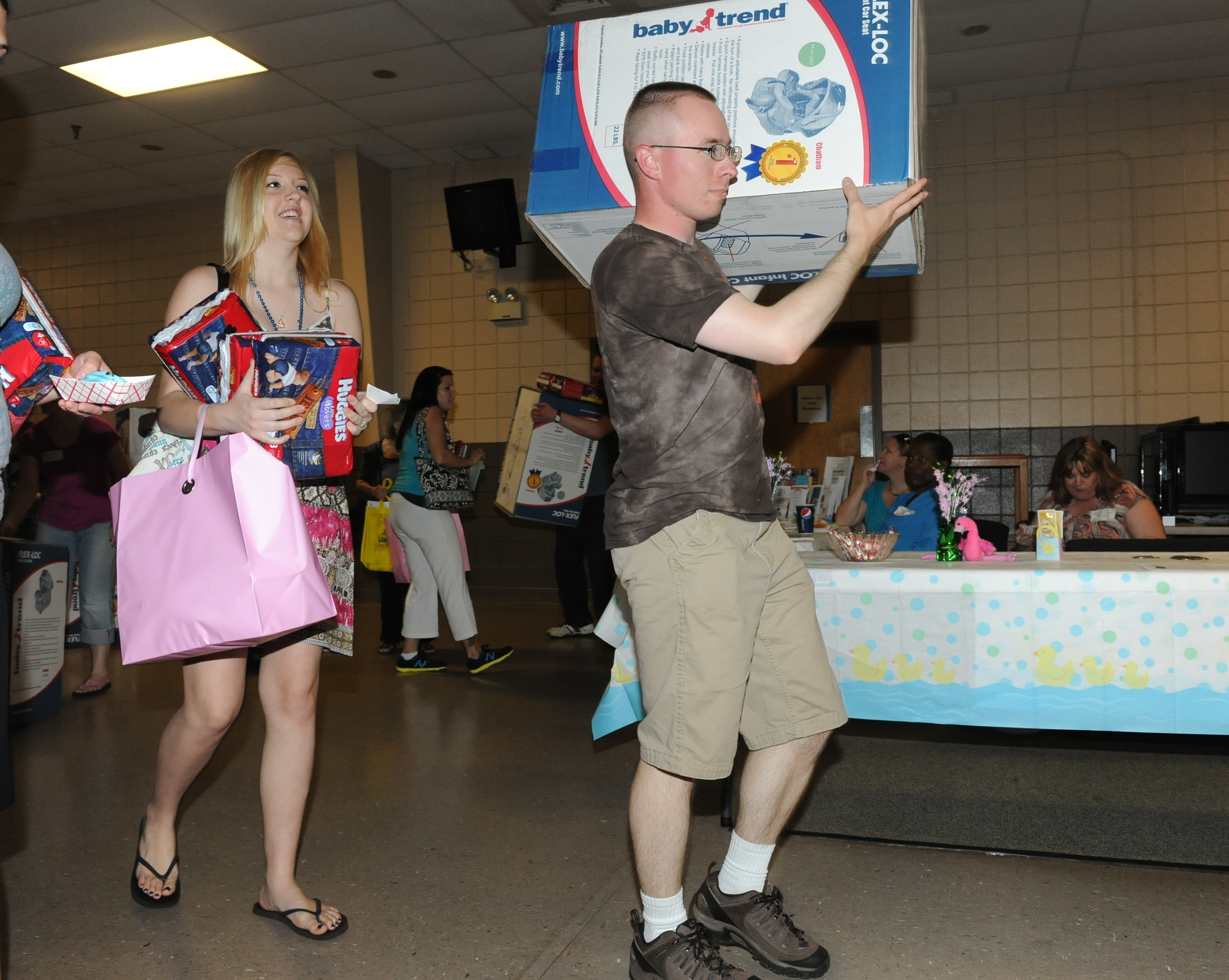 Baby Shower For 125 Military Moms United Service Organizations