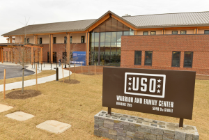 The largest USO Center ever built!