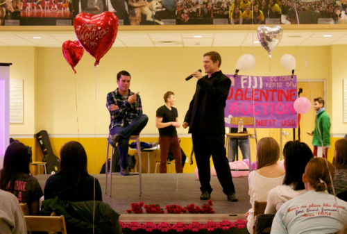 The first annual Fiji Valentine's Day Date Auction in support of the USO