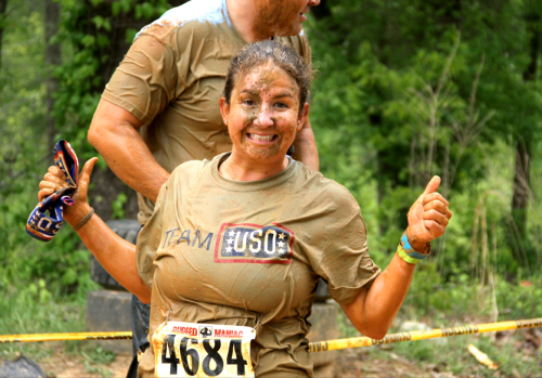 Team USO will enter teams in Rugged Maniac races around the country from now through December.