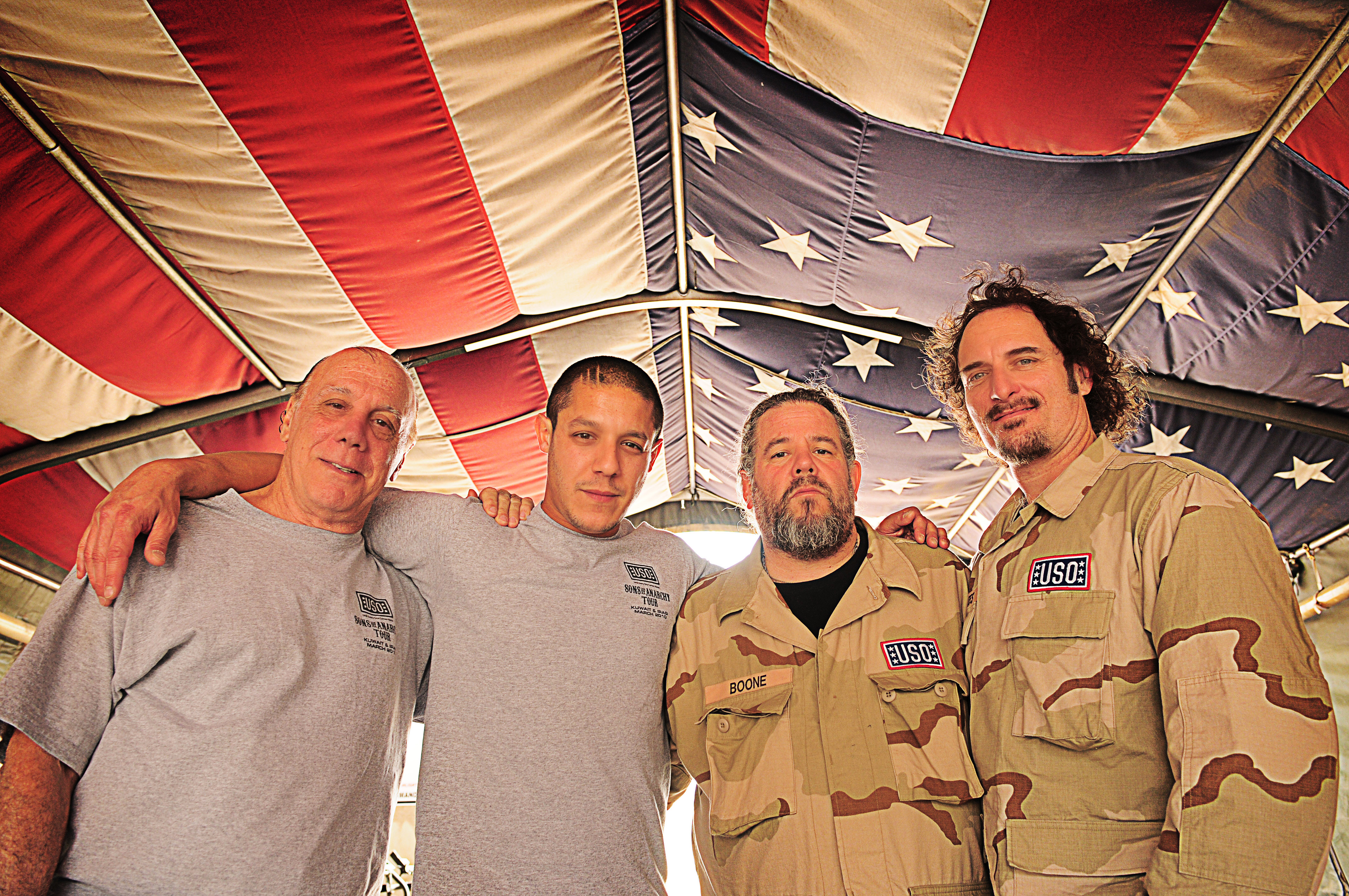 Sons of anarchy the official uso blog from left kristyandbryce Choice Image