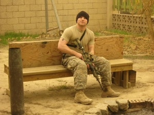 Corey Smith on deployment in Iraq, 2006. Courtesy photo