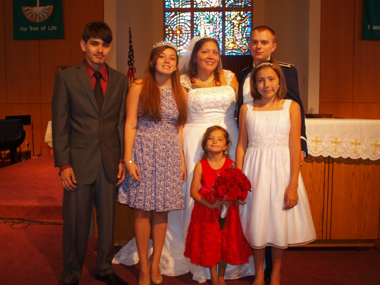 Marlene Kenney and her family. Photo courtesy Marlene Kenney