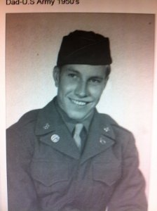 A old photo of J.D. Scott during his military service. Photo courtesy Bryant Scott