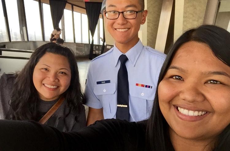 Eric Chun shortly after graduating basic training.